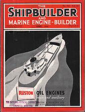 the shipbuilder & marine engine - builder.april 45 - preservation - ships timber