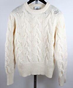 sz 3 / M Thom Browne Brooks Brothers Black Fleece sweater off white wool