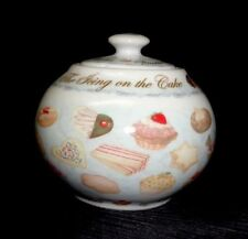 Cardew Design - Cup Cakes & Cookies - Covered Sugar Bowl