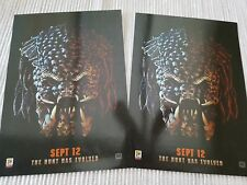 2 x Predator ODEON A4 Sized Glossy Poster