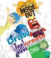 Disney Pixar Inside Out Draw, Feel, Create Sketc, , New