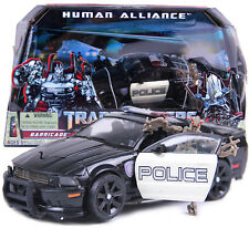 Transformers Human Alliance BARRICADE & FRENZY POLICE CAR ROBOT TOY