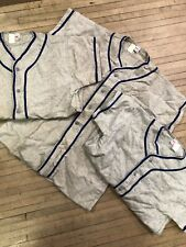 Vintage Southern Cotton Wool Flannel Baseball Jersey Lot Of 3 Usa Made Rare Med