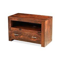 Mysore solid sheesham furniture small TV DVD cabinet stand unit