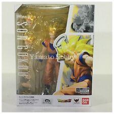 Dragon ball Z Super Saiyan 3 Son Goku Action Figure S.H.Figuarts USED 2017 Ver