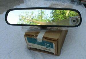 NOS Chevy Pontiac Buick Olds interior rear view MIRROR ratrod restomod oem GM