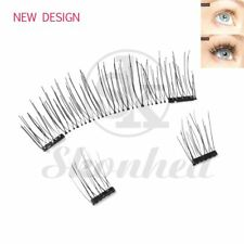 Dual Magnetic False Eyelashes Reusable Natural Handmade Glue-Free Makeup Lashes