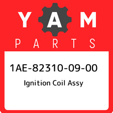 1AE-82310-09-00 Yamaha Ignition coil assy 1AE823100900, New Genuine OEM Part