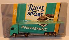 GRELL HO 1/87 CAMION SEMI TRUCK TRAILER VOLVO FH 16 RITTER CHOCOLAT PFEFFERMINZ