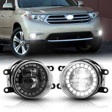 For Toyota Highlander 2008 11 Amp Rav4 06 12 Cree Led Fog Lights Driving Lamp 30w