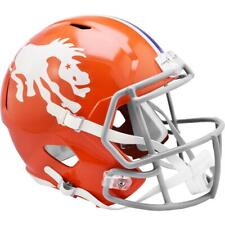 Denver Broncos 1966 Riddell Throwback Replica Football Helmet
