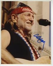 Willie Nelson - Country Music Icon - Autographed 8x10 Photograph