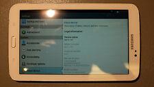 """Samsung Galaxy Tab 3 7"""" T210R White Tablet"""