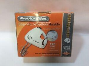 Proctor Silex 62515RY 5 Speed Hand Mixer. Durable Easy Mix.