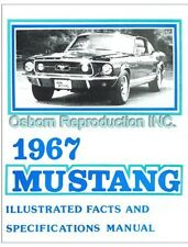 Mustang Fact Book 1967 - Osborn Reproductions