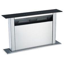 Cookology CDD600BK | 60cm Kitchen Downdraft Extractor Fan in Black LED Light