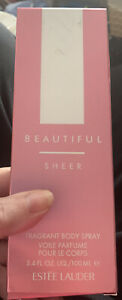 Estee Lauder Beautiful Sheer Fragrant Body Spray 100ml. Nearly Full. Rare. 2003