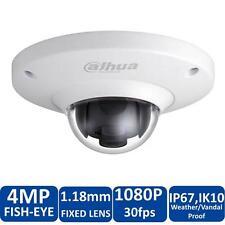 Dahua IPC-EB5400 4MP Vandal Fisheye, 25/30fps@1080P, IK10, POE Fisheye IP Camera