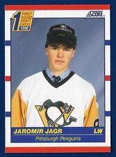 1990 Score #428 Jaromir Jagr (RC) (MINT) CENTERED Pittsburgh Penguins 1990-2001