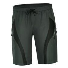 Men's Cycling Shorts Loose Padded Bike Bicycle MTB Mountain Bike Shorts Grey