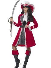 Costumi e travestimenti rossi marca Smiffys per carnevale e teatro da donna prodotta in Cina