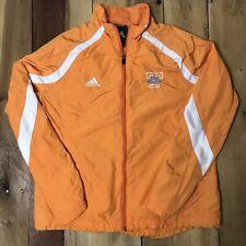 Adidas Lady Tennessee Volunteers Orange Full Zip Rain Jacket Windbreaker Medium