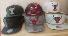 New Era Mitchell and Ness Chicago Bulls Retro Lot of 6 Hats MSRP$190 Bred 11 5