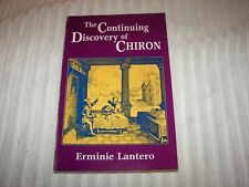 The Continuing Discovery of Chiron E. Lantero 1983 illustrated astrology
