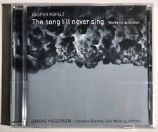 Kasper Rofelt: The Song I'll Never Sing  (UK IMPORT)  CD NEW Free Shipping