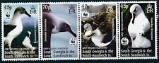 [968] South Georgia Birds WWF good Set very fine MNH Stamps
