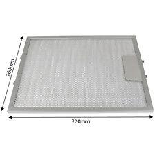 For Baumatic Cooker Hood Metal Mesh Aluminium Grease Filter Vent 320 x 260mm
