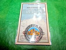 BADLANDS NATIONAL PARK CEDAR PASS GEOLOGICAL SURVEY HIKING MEDALLION S DAKOTA-H6