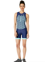 2XU Blue Form Fitting Active Trisuit with Two Rear Pockets Women's Size M 2813
