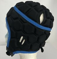 X Blades Pro Rugby Headguard Youth Scrum Cap Size XS 52cm Head Protection Black