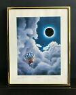 Lithograph Byte Mag. Cover #6 TOTAL ECLIPSE Robert Tinney Signed no. 45/100 COA