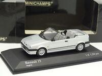 Minichamps 1/43 - Renault 19 Cabriolet 1992 Silver