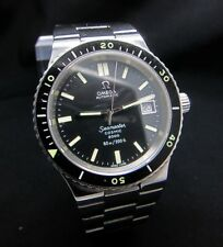 VINTAGE OMEGA SEAMASTER COSMIC 2000 DIVERS CAL.1012 DATE SWISS WATCH 60M