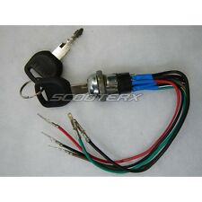 5 Wire Electric Ignition Key Switch 3 Position Universal Mini Chopper ATV Moped