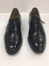Johnston Murphy Aristocraft 7 Black Mens Leather Lace Up Oxford Cap Toe 30110