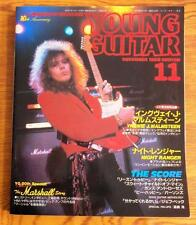 YOUNG GUITAR 1988 Night Ranger Guns N' Roses PERSONS Jeff Beck JAPAN Guitar TAB