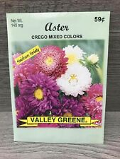 Aster Crego Mixed Colors 140 mg 1 Seed Pack
