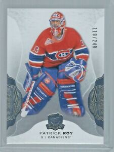 2016-17 Upper Deck The Cup #52 Patrick Roy Base Card 110/249 Montreal Canadiens