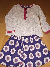 Ensemble jupe et blouse DPAM 4-5 ans