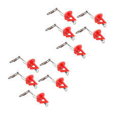 10 Pieces Hook Release Remover Shield Distance Sea Fishing Clip Extractor