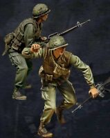 1/35 Scale Resin Figure Model Kit USMC Vietnam War (2 Figures)
