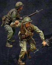 1/35 Scale resin figure Model Kit USMC Guerre du Vietnam (2 figures)