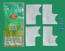 2 Post Filter sets fit older Riccar 8900 Simplicity 7000 Upright Vacuum Cleaners