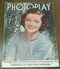 PHOTOPLAY MYRNA LOY Cover August 1938 VOL LII NO 8 Magazine