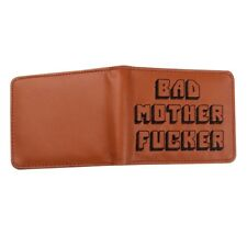 PULP FICTION Bad mother fucker QUENTIN TARANTINO Wallet Cartera Portafoglio