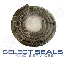 """1/4"""" 6.3 mm Graphite Valve and Pump Stuffing Box Gland Packing,"""